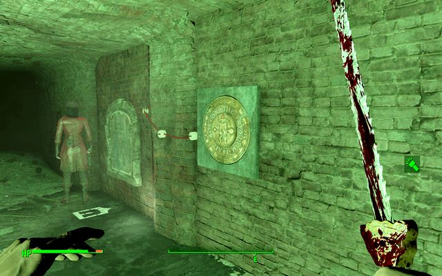 There you will notice a symbol on the last wall - Road to Freedom - Major Quests for Railroad faction - Fallout 4 Game Guide & Walkthrough