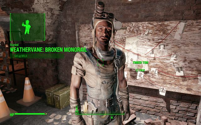 Tinker Tom - Broken Monorail - Minor quests for Railroad faction - Fallout 4 Game Guide & Walkthrough