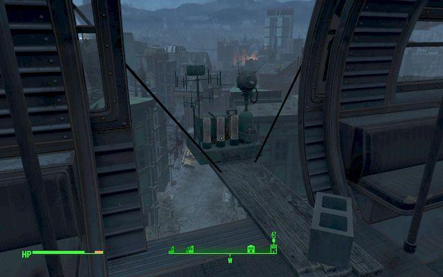 The sensor installed inside the wagon - Broken Monorail - Minor quests for Railroad faction - Fallout 4 Game Guide & Walkthrough