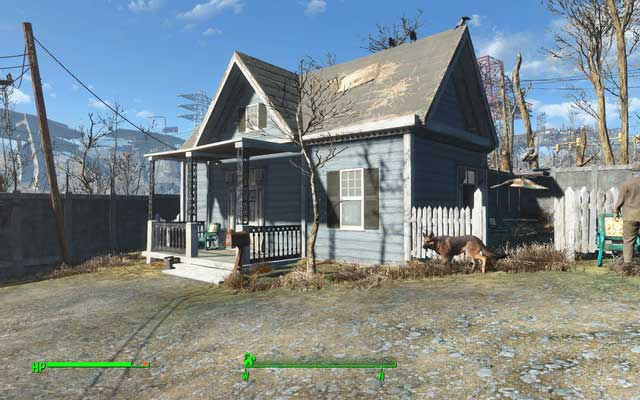 The house in which you will find password to Jacobs computer - Human Error (Covenant) - Side quests in other locations - Fallout 4 Game Guide & Walkthrough