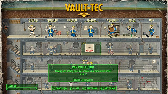 how to quickly gather large numbers of bottlecaps fallout 4 game