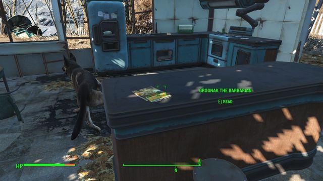You can find the Grognak the Barbarian Magazine in your old house - Sanctuary (sector 1 location) - Sanctuary - Sector 1 - Fallout 4 Game Guide & Walkthrough