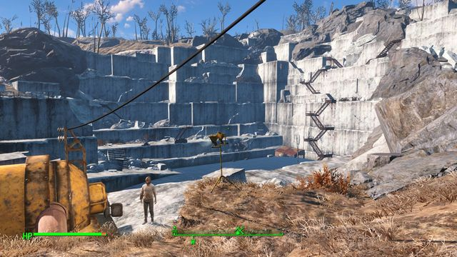 Thicket Excavations is one of the largest locations in Sanctuary Sector - Thicket Excavations - Sanctuary - Sector 1 - Fallout 4 Game Guide & Walkthrough