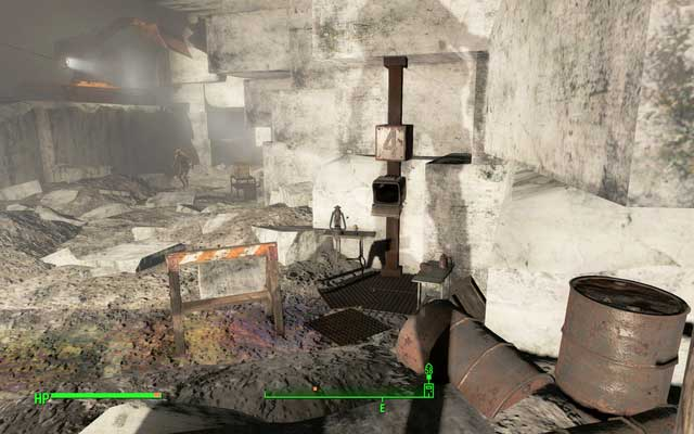Sneak bobblehead in the fourth room - Dunwich Borers - Salem - Sector 3 - Fallout 4 Game Guide & Walkthrough