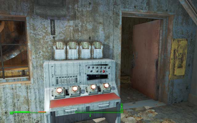 Inside there is a lock to open which you need password - Lynn Pier Parking - Salem - Sector 3 - Fallout 4 Game Guide & Walkthrough