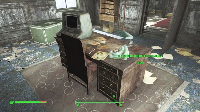 If you have active quest of searching for technical documentation for the Brotherhood of Steel, you can find many of them here - Fort Strong - The Castle - Sector 7 - Fallout 4 Game Guide & Walkthrough