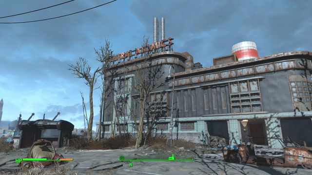 General Atomics is an abandoned robot factory - General Atomics Factory - The Castle - Sector 7 - Fallout 4 Game Guide & Walkthrough