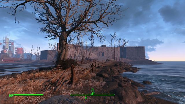 This location is a large fort that is basically empty inside - The Castle - The Castle - Sector 7 - Fallout 4 Game Guide & Walkthrough
