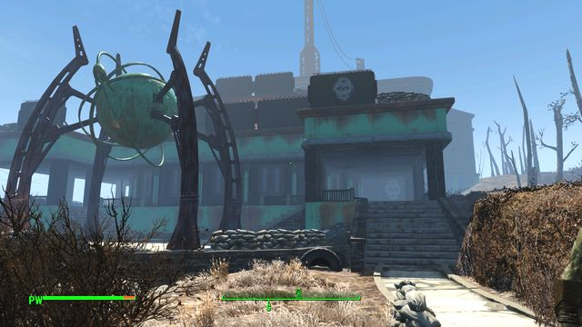 Gunners Plaza is the HQ of one of the enemy factions of the Commonwealth - Gunners - Gunners Plaza - Southern Boston - Sector 9 - Fallout 4 Game Guide & Walkthrough