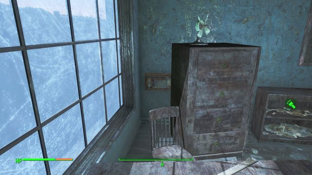In the chemical lab, at the first floor, there is an expert safe behind shelves - Suffolk County Charter School - Southern Boston - Sector 9 - Fallout 4 Game Guide & Walkthrough