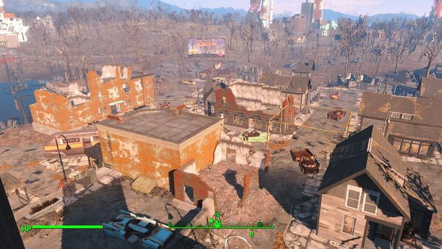 Jamaica Plain is a township occupied by a large group of ghouls - Jamaica Plain - Southern Boston - Sector 9 - Fallout 4 Game Guide & Walkthrough