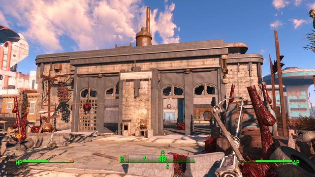 West Roxbury is a metro station occupied by super mutants - West Roxbury Station - Southern Boston - Sector 9 - Fallout 4 Game Guide & Walkthrough