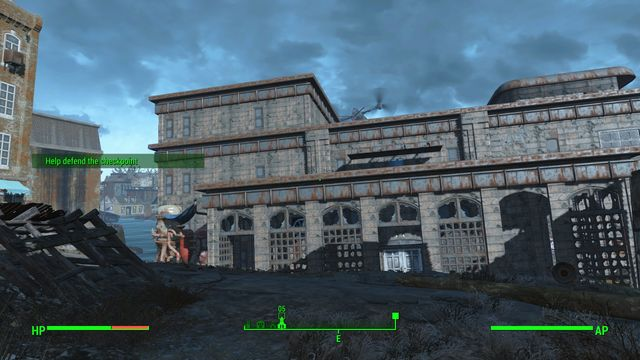 University Point is a large complex of university buildings that are being occupied by synths - University Point - Southern Boston - Sector 9 - Fallout 4 Game Guide & Walkthrough