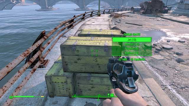 The chests are filled with valuable drugs - Diamond City Blues - Side quests in Diamond City - Fallout 4 Game Guide & Walkthrough