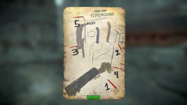 If not, you can hack the terminal (master security level) or use the note found next to her to solve a riddle - activate five sensors around the building in the order shown in the note - Diamond City Blues - Side quests in Diamond City - Fallout 4 Game Guide & Walkthrough