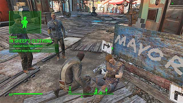 Unlocking this quest isnt an easy matter as first you must complete some very specific requirements - In Sheeps Clothing - Side quests in Diamond City - Fallout 4 Game Guide & Walkthrough