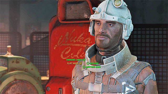 Behavior options of character with high charisma are marked with different colors - Interactions with other characters - Basic Information - Fallout 4 Game Guide & Walkthrough