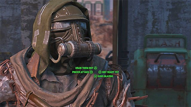 Decide what plan to use when attacking the castle - Taking Independence - Major quests for Minutemen faction - Fallout 4 Game Guide & Walkthrough