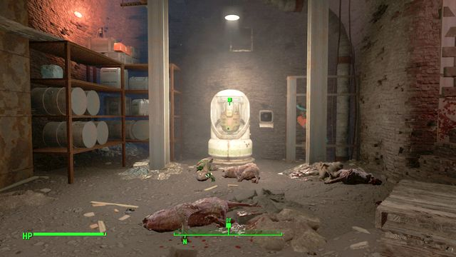 Buddy in the basement of the Shemrock Taphouse - Trouble Brewin - Side quests in Goodneighbor - Fallout 4 Game Guide & Walkthrough