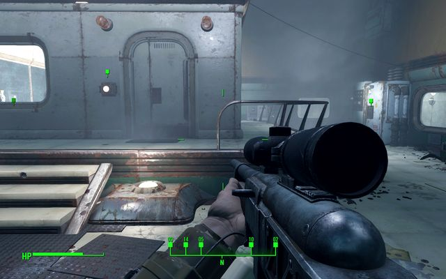 Once the conversations end, you can use the button at the door to open them or you can kill Lorenzo by activating four levers - The Secret of Cabot House - Side quests in Cabot House - Fallout 4 Game Guide & Walkthrough
