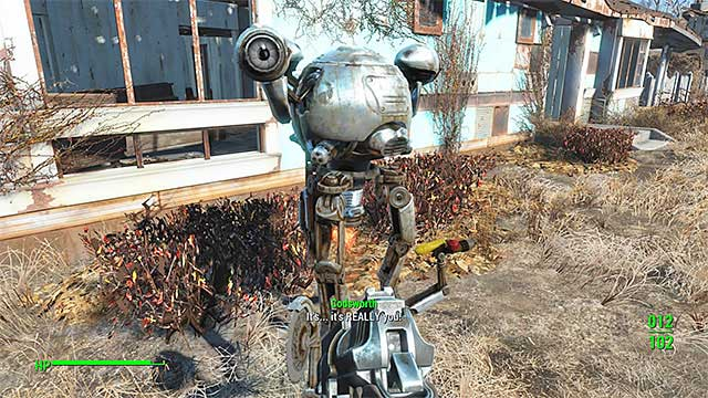 Codsworth - List of companions - Basic Information - Fallout 4 Game Guide & Walkthrough