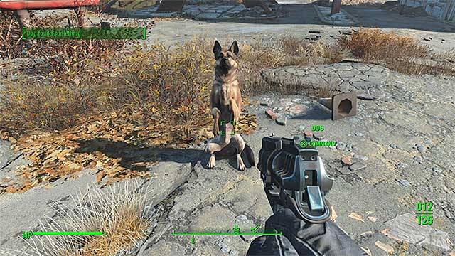Dogmeat - List of companions - Basic Information - Fallout 4 Game Guide & Walkthrough