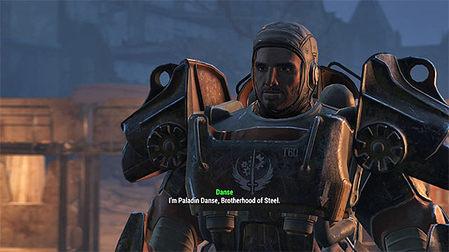 Paladin Danse - List of companions - Basic Information - Fallout 4 Game Guide & Walkthrough