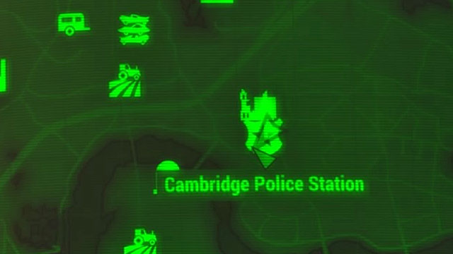 Location where you find the companion: Paladin Danse by default can be found in Cambridge Police Station in the central part of the world map shown on the picture above - List of companions - Basic Information - Fallout 4 Game Guide & Walkthrough
