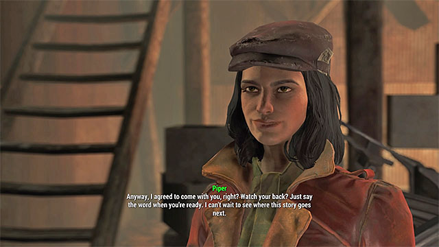 Piper - List of companions - Basic Information - Fallout 4 Game Guide & Walkthrough