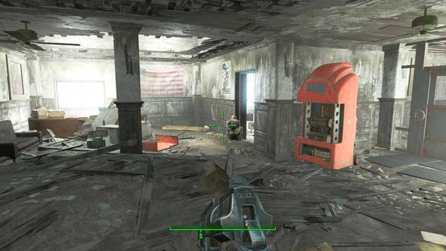 Clear the exterior and interior and of the facility of all ghouls - you do not need to enter the garrison, nor the storage - Clear the National Guard training yard of ghouls - Side quests in Bunker Hill - Fallout 4 Game Guide & Walkthrough
