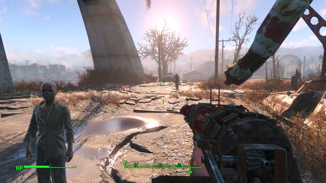 You can meet bullet as you follow the road, most probably under the highway. - Kid in a Fridge (University Point) - Side quests in other locations - Fallout 4 Game Guide & Walkthrough