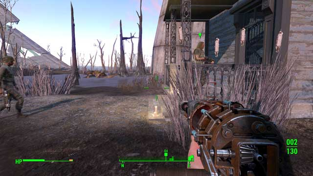 You can let Bullet, and his men, into the house and attack them. - Kid in a Fridge (University Point) - Side quests in other locations - Fallout 4 Game Guide & Walkthrough