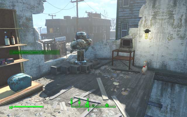 Activate turrets marked on the radar, using terminals located right next to them - Activate turrets in Salem (Rook Family House) - Side quests in other locations - Fallout 4 Game Guide & Walkthrough