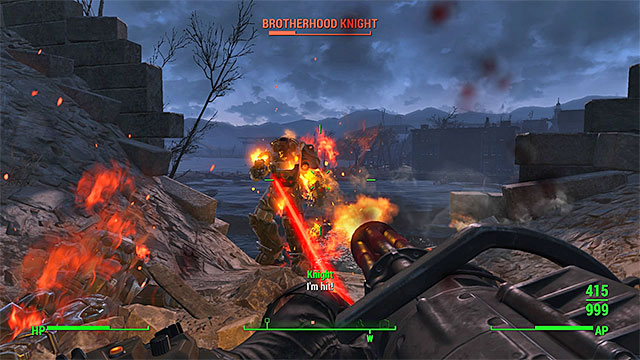 Use your best weapons to eliminate soldiers in power armors - With Our Powers Combined - Minor quests for Minutemen faction - Fallout 4 Game Guide & Walkthrough