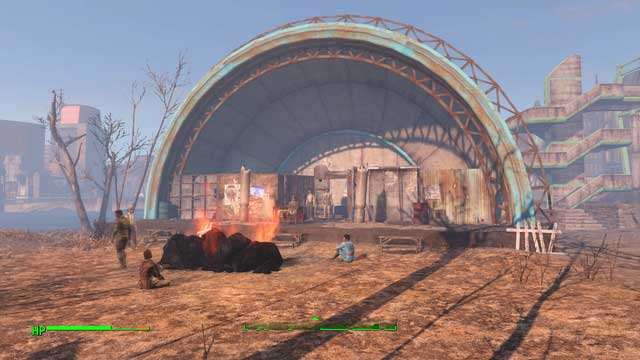 Charles View Amphitheater, the settlement of cultists - Pillars of the Community (Charles View Amphitheater) - Side quests in other locations - Fallout 4 Game Guide & Walkthrough