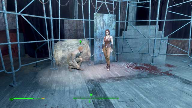 Cait and Tommy in Combat Zone, in the arena - Combat Zone (other locations) - Side quests in other locations - Fallout 4 Game Guide & Walkthrough