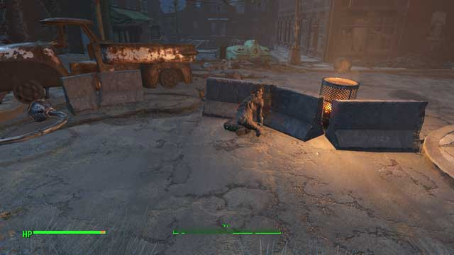 The corpse with the basement key - Find the Treasures of Jamaican Plain (Jamaican Plain) - Side quests in other locations - Fallout 4 Game Guide & Walkthrough