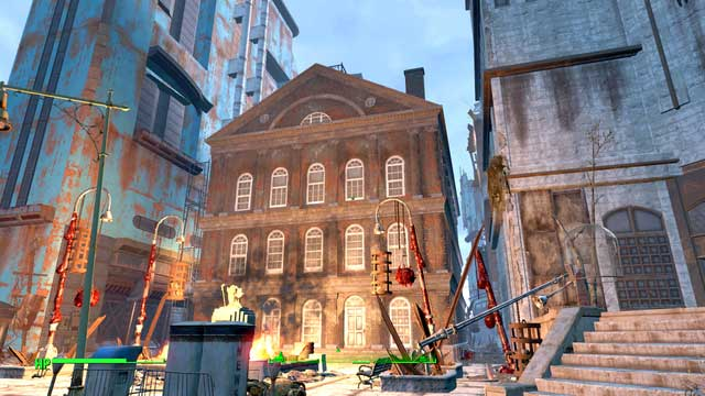 Faneuil Hall - Faneuil Hall - Center of Boston - Sector 6 - Fallout 4 Game Guide & Walkthrough