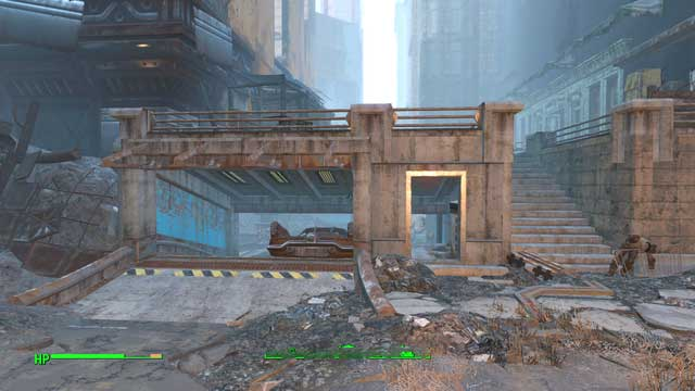 The underground garage - Faneuil Hall - Center of Boston - Sector 6 - Fallout 4 Game Guide & Walkthrough