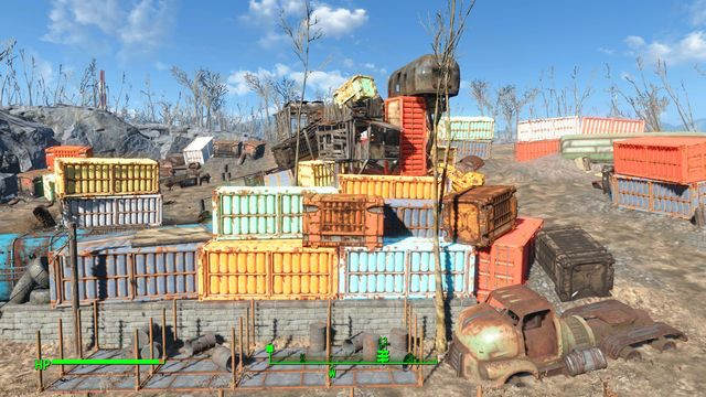 The salvage has been inhabited by a numerous and strong group of super mutants - Big Johns Salvage - Center of Boston - Sector 6 - Fallout 4 Game Guide & Walkthrough