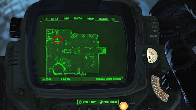 In National Guard Barracks deal with all ghouls - Magazines in Malden - Sector 2 - Magazines - Fallout 4 Game Guide & Walkthrough
