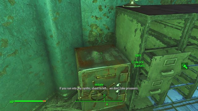 The secret can be found on the police station territory - Magazines in Cambridge - Sector 5 - Magazines - Fallout 4 Game Guide & Walkthrough