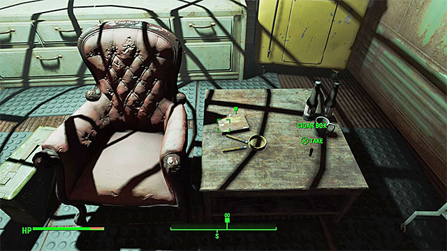 Youll find cigars by the chair - Getting A Clue - Main story - Fallout 4 Game Guide & Walkthrough