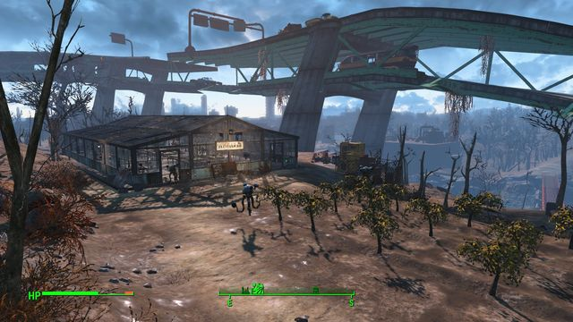 You can go back to the farm from time to time to harvest fruit and vegetables - Graygarden - Fort Hagen - Sector 4 - Fallout 4 Game Guide & Walkthrough