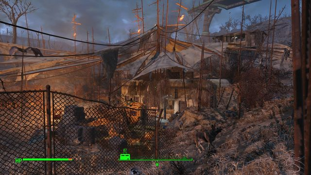 The location consists of several buildings on the surface and a complex of underground rooms - Federal Ration Stockpile - Fort Hagen - Sector 4 - Fallout 4 Game Guide & Walkthrough