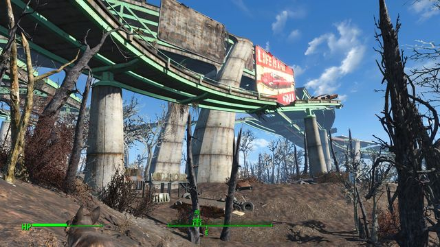 This area consists of two large areas - Mass Pike Interchange - Fort Hagen - Sector 4 - Fallout 4 Game Guide & Walkthrough