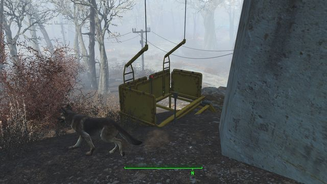 Be prepared for a warm welcome, It is very likely that you havent eliminated all of the enemies on the ground. - Mass Pike Interchange - Fort Hagen - Sector 4 - Fallout 4 Game Guide & Walkthrough