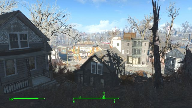 Forest Grove is a small town in the north-eastern part of the sector - Forest Grove Marsh - Fort Hagen - Sector 4 - Fallout 4 Game Guide & Walkthrough