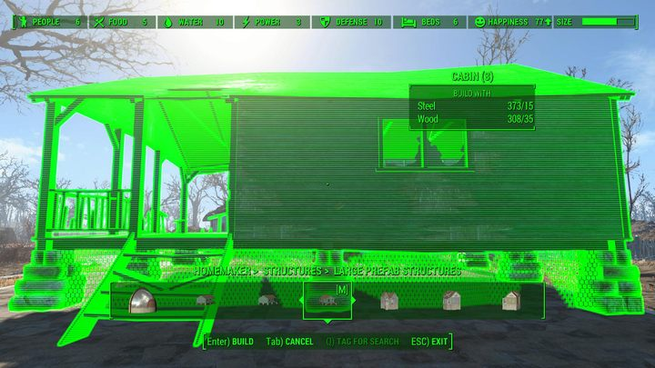 This mod introduced many new buildings into the game, which can be placed around the settlements - this includes houses, warehouses, greenhouses, radio towers, and even lighthouses - Homemaker - more buildings and objects in the settlements | Mods for Fallout 4 - The best mods - Fallout 4 Game Guide & Walkthrough