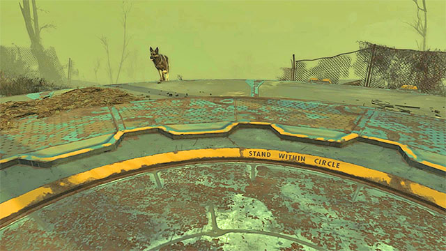 Stand on the round platform - How to return to Vault 111 after the prologue? - FAQ - Frequently asked questions - Fallout 4 Game Guide & Walkthrough